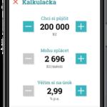 zonky kalkulačka na mobilu